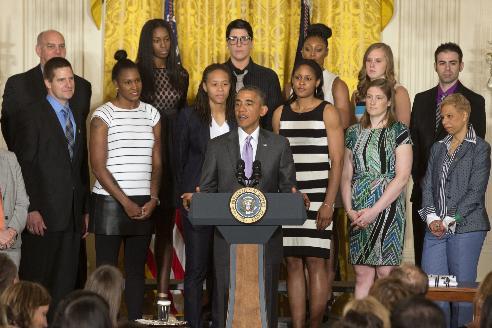 Obama Lynx BasketballK