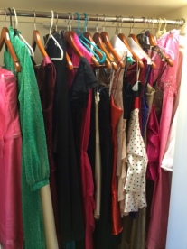 So many dresses, the generosity of our partners and donors is astounding. Thank you!